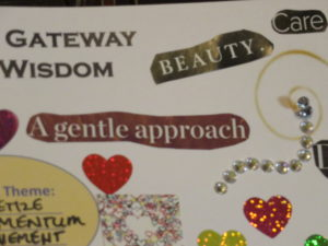 """A Gentle Approach"" on my vision board - Baylan Megino"